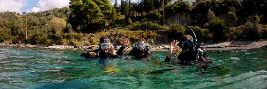 lär dig dyka i grekland och peloponnesos