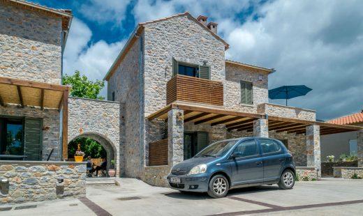 Vacation Stoupa luxury stone house
