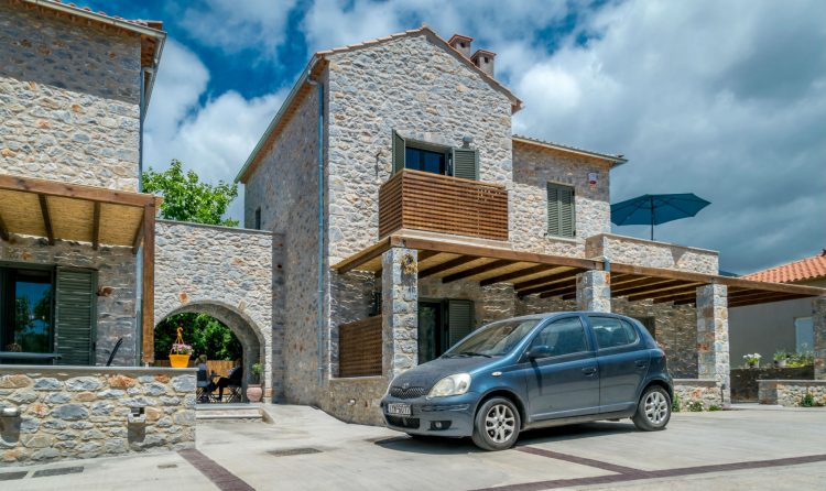 Vacation Stoupa luxury stone house