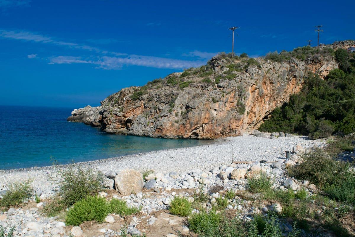 hel- eller halvdag utflykter från Mani, Peloponnesos