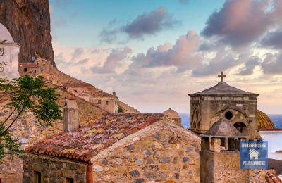 Peloponnese visitor monemvasia castle